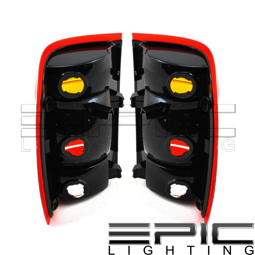 Left Right Sides Pair Rear Brake Tail Lamps For 1998