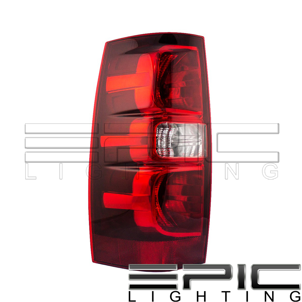 For 2007-2013 Chevy Chevrolet Tahoe Suburban Driver Side Tail Light Lamp LH