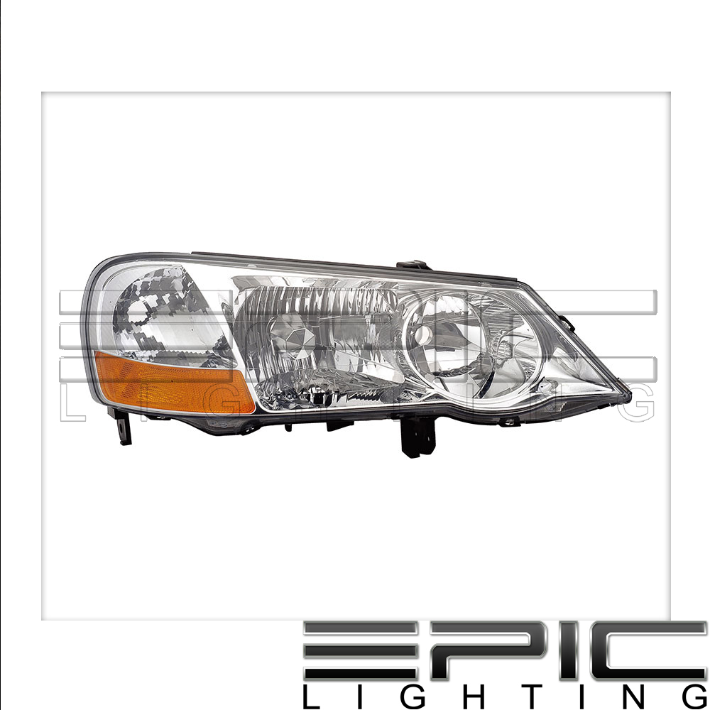 Fits 2002 03 Acura Tl Headlights Headlamps Right Passenger