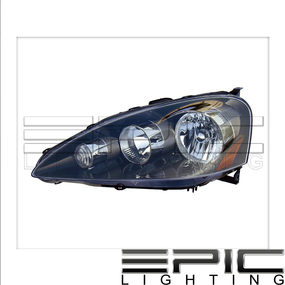 Fits 2005-06 Acura RSX Headlights Headlamps Left Driver