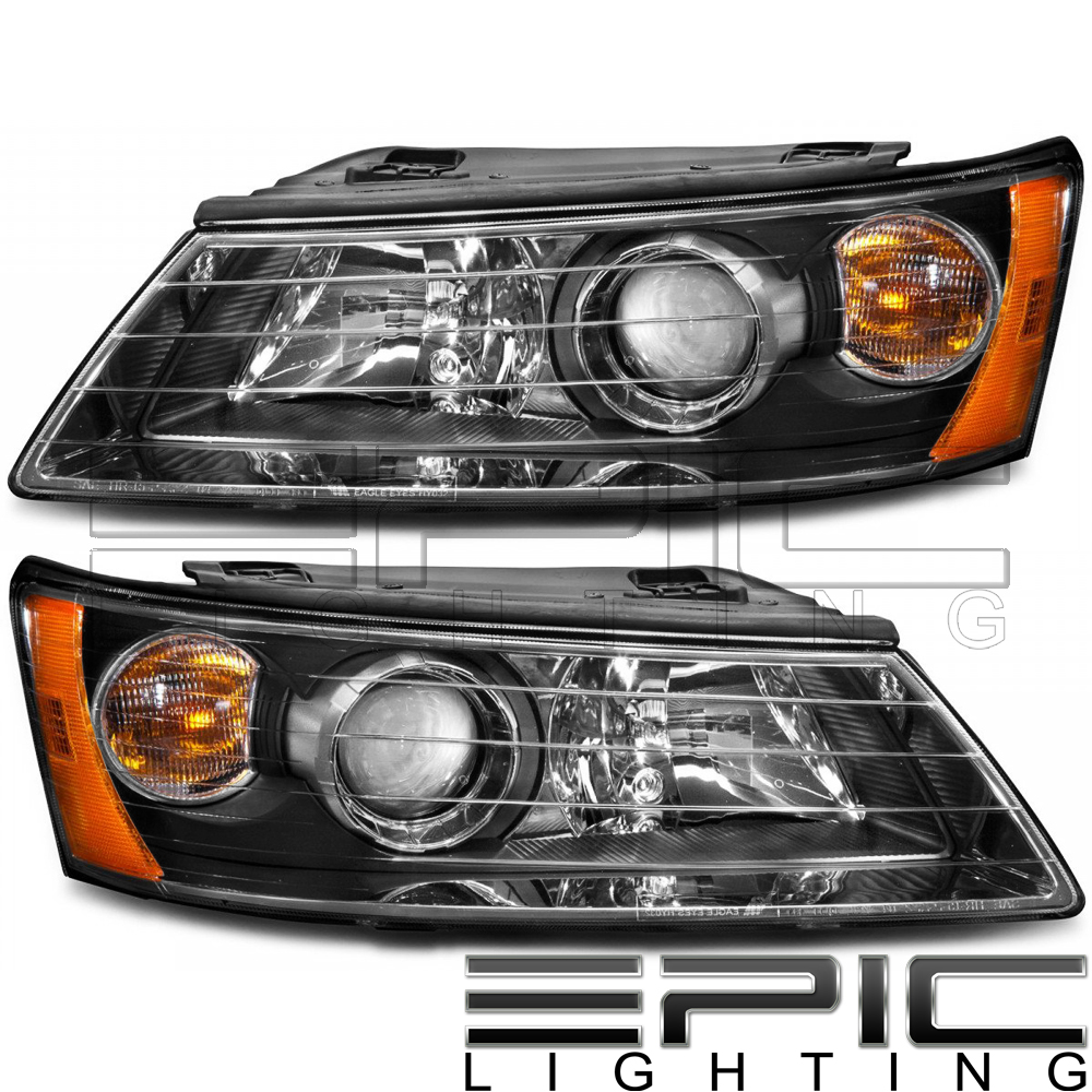 Fits 2006-11 HYUNDAI ACCENT SEDAN TAIL LIGHT//LAMP  Driver Side Left Only