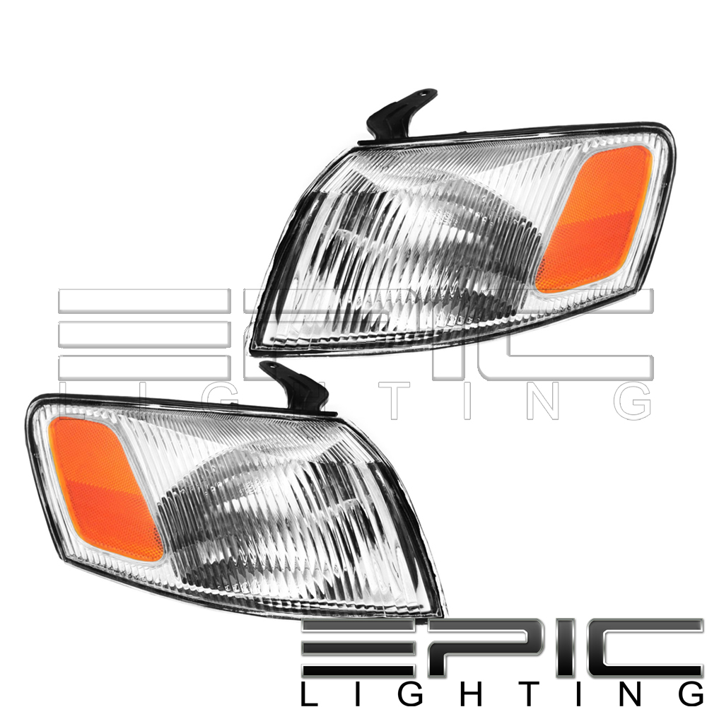Left Right Pair Side Marker Corner Turn Signal Lights for 1997-99 TOYOTA CAMRY