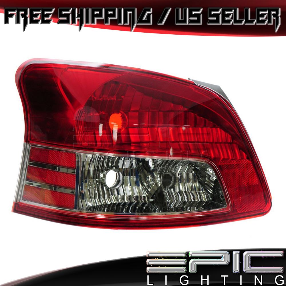 Left Driver Side LH 2007-2012 TOYOTA YARIS S Sedan Rear Brake Tail Light